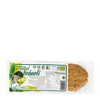 Soria Natural Hamburguesa de tofu con brócoli ecológica 160 g