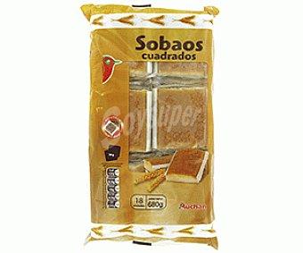 Auchan Sobao Cuadrado 680 Gramos