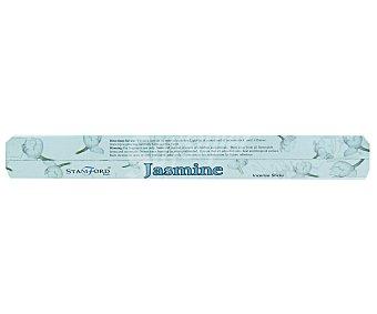 STAMFORD Barritas de incienso natural con olor a jazmín, sin sustancias tóxicas Pack de 20 Unidades