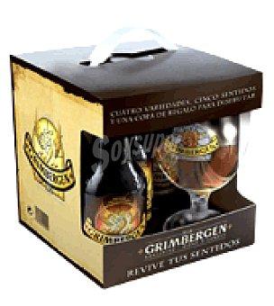 Grimbergen Cerveza Pack de 4x33 cl