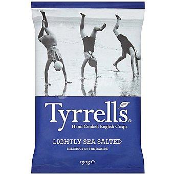 Tyrrells Patatas fritas con un ligero toque de sal marina Bolsa 150 g