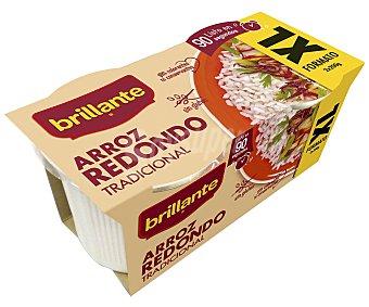 Brillante Arroz redondo paquete de 200 grs pack de 2