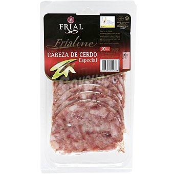 FRIAL FRIALINE Cabeza de cerdo especial en lonchas Sobre 150 g