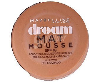 Maybelline New York Maquillaje mousse nº040 dream MAT mousse