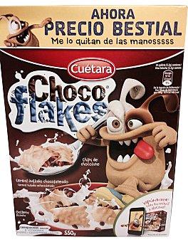 Cuétara Cuétara Galletas Choco Flakes 550 gr