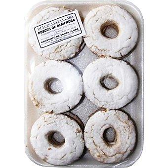 Dulces Santa Clara Roscos de almendra Envase 12 unidades