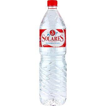 Solares Agua mineral Botella 1,5 l