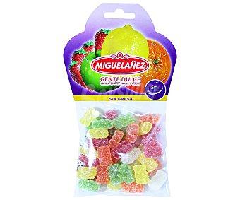 Miguelañez Gominolas blandas en forma de ositos con azúcar bolsa 150 g