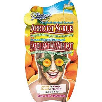 MONTAGNE JEUNESSE Mascarilla facial exfoliante de albaricoque limpia y revitaliza Envase 12 g