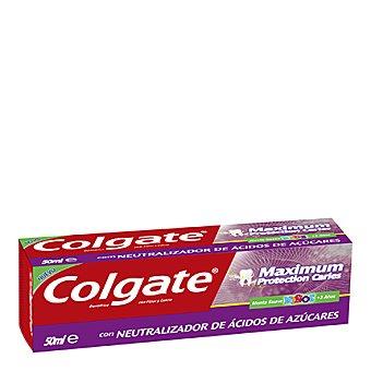 Colgate Dentífrico máxima protección caries menta para niños 50 ml