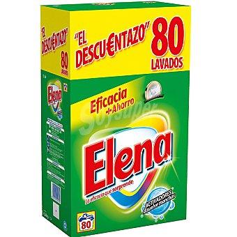 Elena detergente máquina polvo maleta 80 cacitos