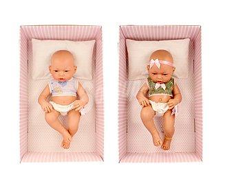 GUCA Bebé recién nacido de 36 centímetros de alto, incluye almohada y ropita 1 unidad
