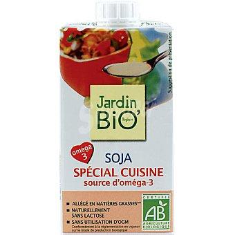 JARDIN Bio' salsa de soja especial cocina con omega 3 envase 25 cl
