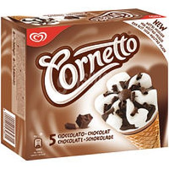 Frigo Cornetto Cornetto de nata-chocolate Pack 6x90 ml