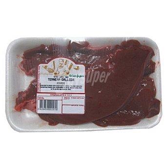 Ternera hígado en filetes bandeja peso aproximado 300 g
