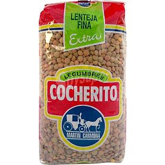 COCHERITO Lenteja castellana extra Paquete 1 kg