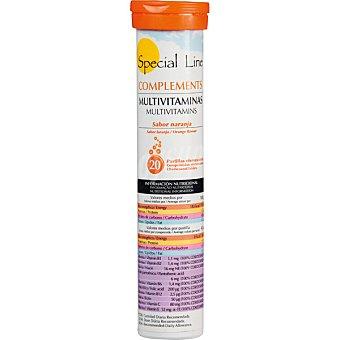Special Line Multivitaminas sabor naranja  Envase 20 pastillas