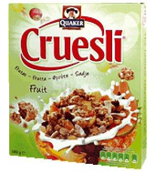 Quaker Cereal Cruesli frutas 500 g