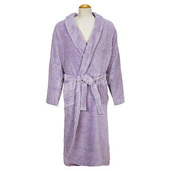 Casactual Rubí albornoz adulto talla XL de rizo americano color lila
