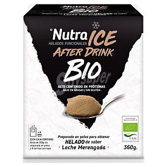 Preparado en polvo para hacer helado de sabor leche merengada ecológico Nutra Ice sin gluten 360 g