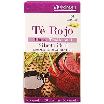 Vivisima+ te rojo Envase 50 capsulas