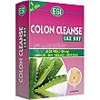 Colon Cleanse aloe vera favorece el tránsito intestinal caja 30 tabletas  ESI