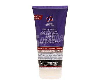 Neutrogena Crema de manos que ayuda a recuperar la elasticidad de la piel con factor de protección 15 75 mililitros