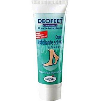 Deofeet Crema exfoliante activa elimina las durezas y callosidades Tubo 50 ml