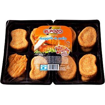ElPozo Nuggets de pollo Bandeja 320 g (16 unidades)