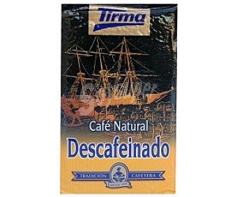 Tirma Café molido descafeinado natural 250 gramos