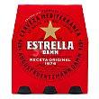 Cerveza Pack 6 botellines x 25 cl Estrella Damm
