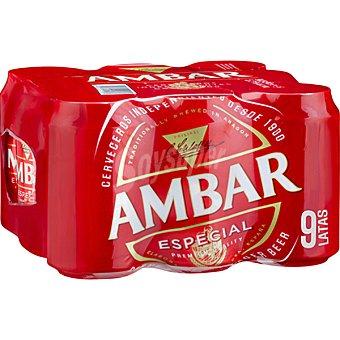 Ambar Cerveza Pack 9x33 cl