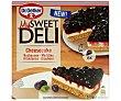Pastel ultacongelado de cheesecake con cobertura de arádanos 515 g My Sweet Deli Dr. Oetker