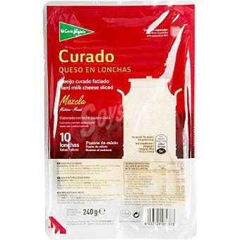 ALIADA Queso curado en lonchas envase 200 g