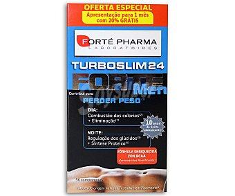 TurboSlim Complemento alimenticio para el control de peso en los hombres 28 Comprimidos