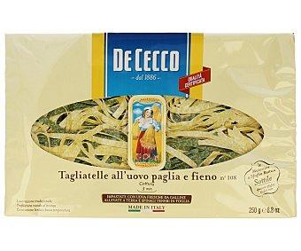 De Cecco Tagliatelle (pasta alimenticia al huevo con espinacas) 250 g
