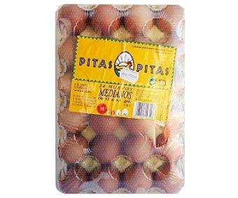 Pitas Huevos Clase M 24 Unidades