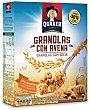 Cereales granolas con avena, miel y almendras Caja 375 g Quaker