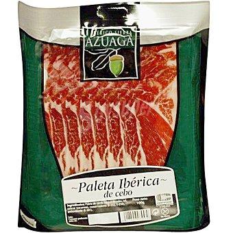 SIERRA DE AZUAGA Paleta ibérica de cebo en lonchas Sobre 100 g