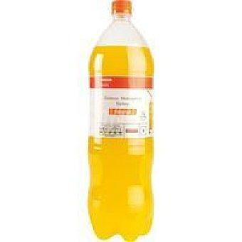 Eroski Basic Refresco de naranja Botella 2 litros
