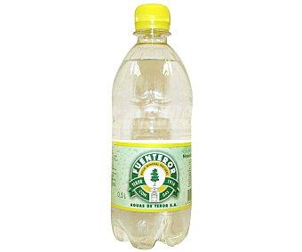 Fuenteror Agua mineral con gas Botella de 50 centilitros