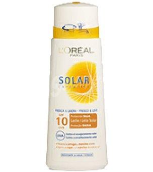 Solar Expertise L'Oréal Paris Leche solar factor de protección 10 Bote de 250 ml