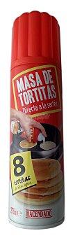 Hacendado Masa tortitas spray Bote 275 g