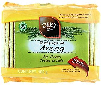 Diet Rádisson Tostadas de avena Paquete 100 g