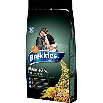 AFFINITY BREKKIES EXCEL MAXI +25 con carne y verduras para perro Bolsa 15 kg
