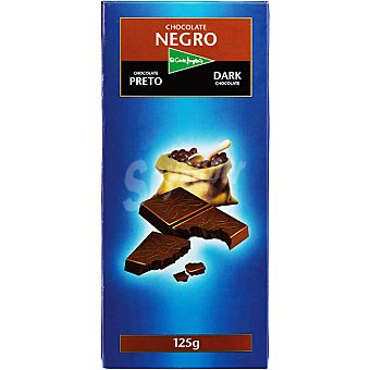 El Corte Inglés Chocolate negro Tableta 125 g