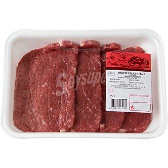 Passion meat Añojo filetes de tapa/contra 1ª A peso aproximado bandeja 500 g 3-4 unidades