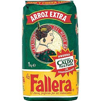La Fallera arroz redondo extra  paquete 1 kg + 10% gratis