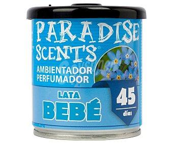 Paradise scents Ambientador coche en gel con aroma bebé scents