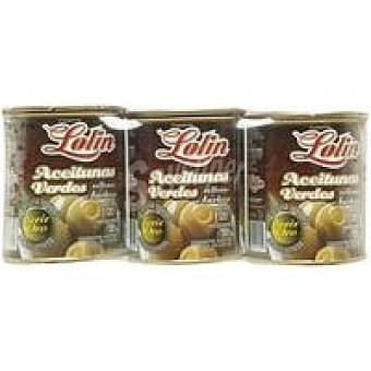 Lolín Aceitunas rellenas Pack 3 x 50 g